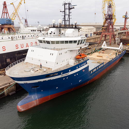 Vessel Artabro – West Sea's latest naval conversion project