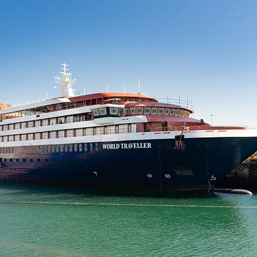 World Traveller, the fourth Polar Expedition vessel already floats